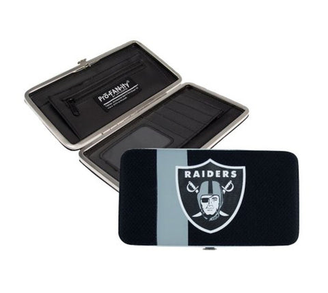 Oakland Raiders Mesh Shell Organizer Wallet
