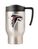 Atlanta Falcons Logo 16oz Stainless Steel Travel Mug