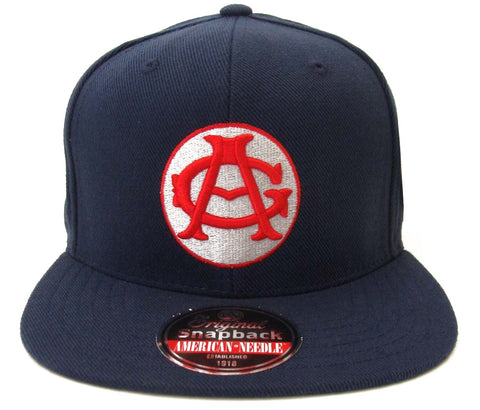 Chicago American Giants Snapback Retro Replica AN Negro League Navy Cap Hat
