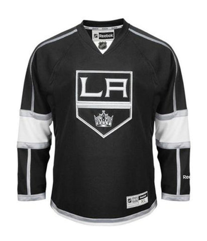 Los Angeles Kings Mens Reebok Premier Home Jersey Black