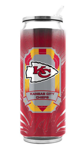 Kansas City Chiefs Tall Boy 16.9 oz Thermocan Thermos