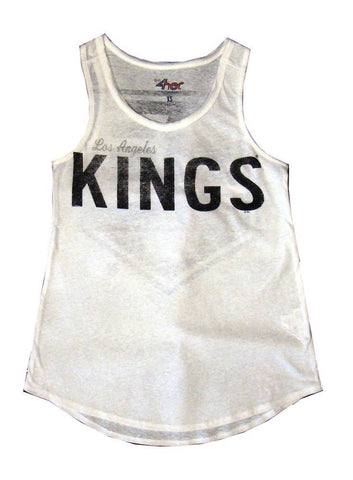 Los Angeles Kings Women's G-III Power Hitter Tank White
