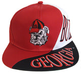 Georgia Bulldogs Snapback The Wave Vintage  Cap Hat