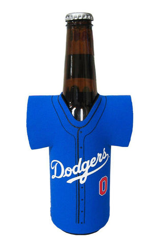 Los Angeles Dodgers Cooler Bottle Holder Jersey Blue