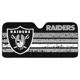 Oakland Raiders Auto Sun Shade New