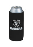 Oakland Raiders 24oz Can Holder Black