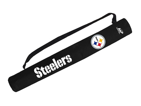 Pittsburgh Steelers Can Shaft Cooler Black