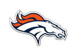 Denver Broncos Logo Car or Truck Large Magnet