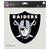 Oakland Raiders Decal Logo 8x8 Die-Cut Sticker