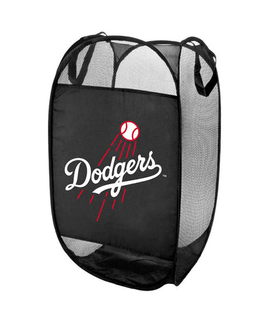 Los Angeles Dodgers NFL Pop-Up Laundry Hamper Black