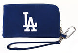 Los Angeles Dodgers Charm14's Phone Wristlet Wallet Blue