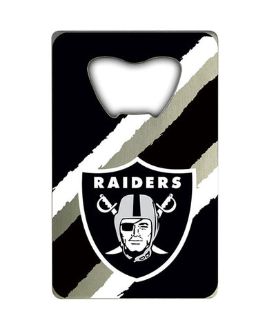 Oakland Raiders Credit Card Style Bottle Opener