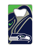 Seattle Seahawks Credit Card Style Bottle Opener