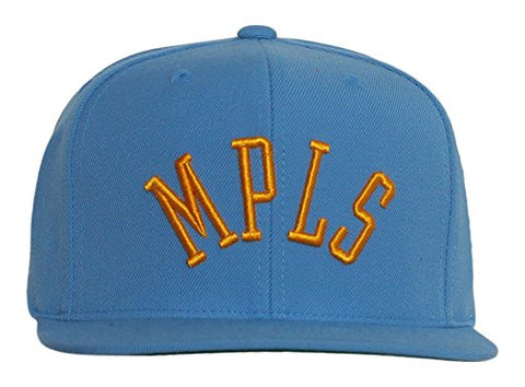 Los Angeles Lakers Mitchell and Ness MPLS Blue Snapback