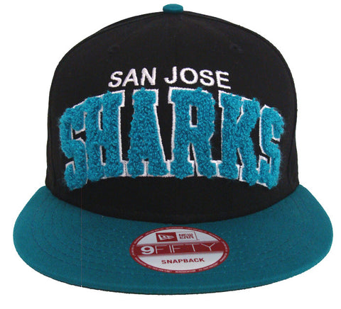 San Jose Sharks Snapback New Era Retro Carpet Hat Cap