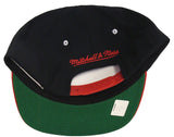 Chicago Blackhawks Snapback Mitchell & Ness Script Black Red