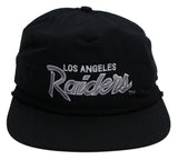 Los Angeles Raiders Snapback Vintage Reebok Rope Cap Hat Black