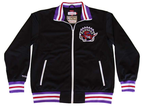Toronto Raptors Mens Mitchell & Ness NBA Preseason Warm Up Track Jacket
