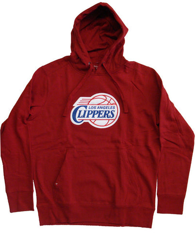 Los Angeles Clippers Mens Antigua Hooded Sweatshirts Red