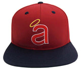 Anaheim Angels Snapback Retro Cap Hat Red Navy