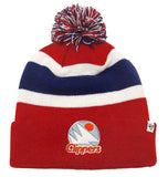 Los Angeles Clippers Beanie 47 Break Away Embroidered Pom Ski Cap