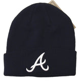 Atlanta Braves Beanie Embroidered 47 Folded Ski Cap