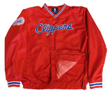 Los Angeles Clippers Mens GIII Vneck Windbreaker Jacket
