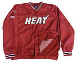 Miami Heat Mens GIII Vneck Windbreaker Jacket