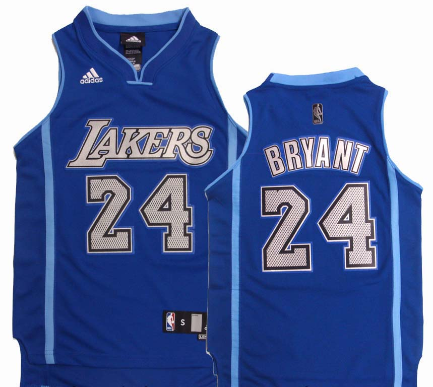 e1844ccefda Los Angeles Lakers Youth Bryant #24 Swingman Replica Jersey Blue ...