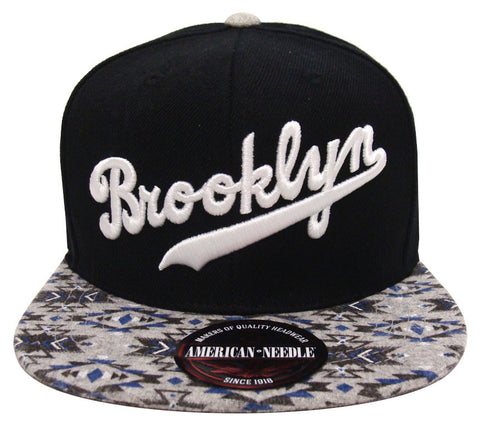 Brooklyn Dodgers Snapback Style Strapback Retro American Needle Native Imprint Cap Hat