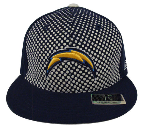 San Diego Chargers Fitted New Era Dots Cap Hat Navy
