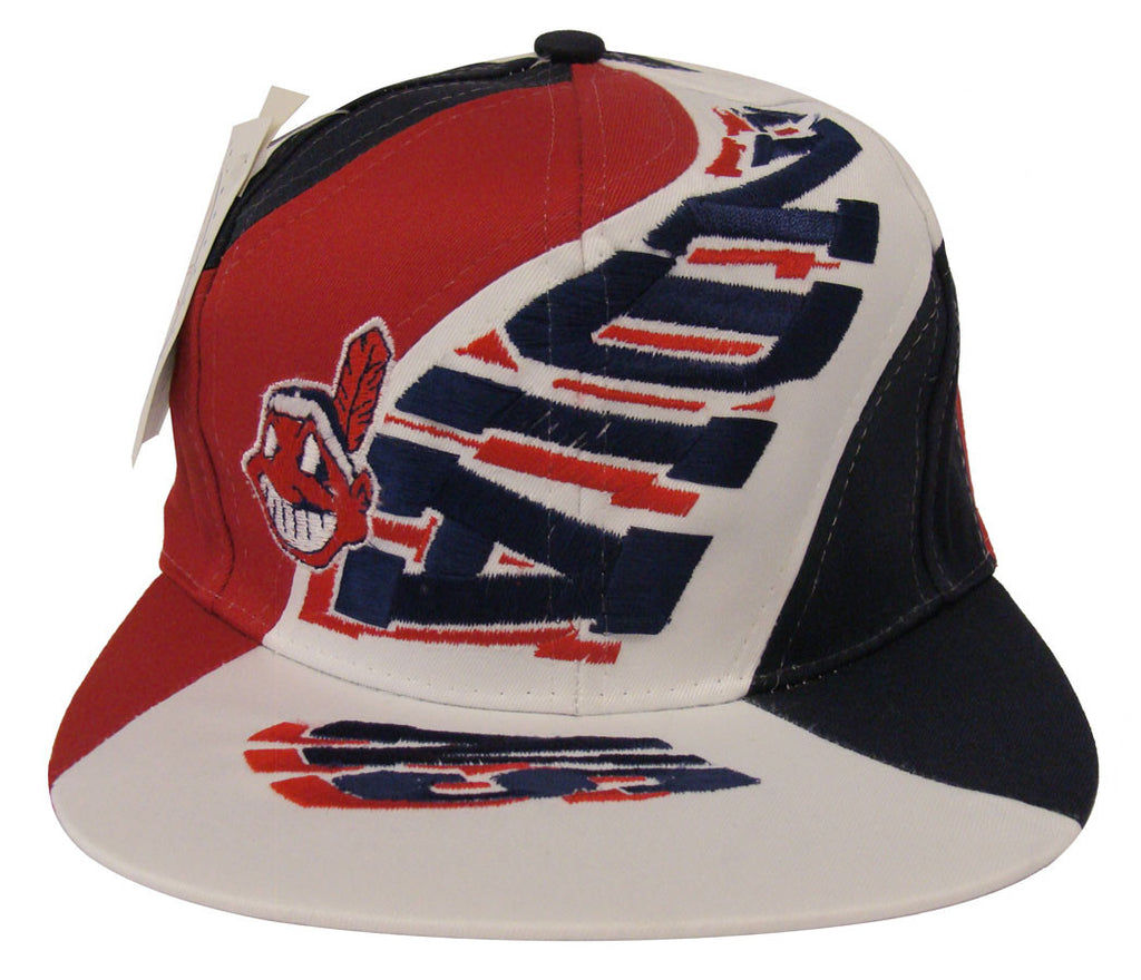ffd20b367c079 Cleveland Indians Snapback Highway Vintage Cap Hat – THE 4TH QUARTER