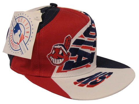 Cleveland Indians Snapback Highway Vintage Cap Hat – THE 4TH QUARTER 1ddc7eaf92c