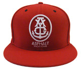Asphalt Yacht Club Snapback New Era Anchor Red Cap Hat