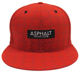 Asphalt Yacht Club Snapback New Era Origin Red Cap Hat