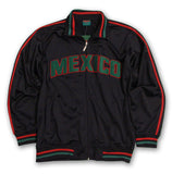 Mexico Youth Full Zip Black Track Jacket