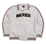 Mexico Youth Full Zip White Track Jacket