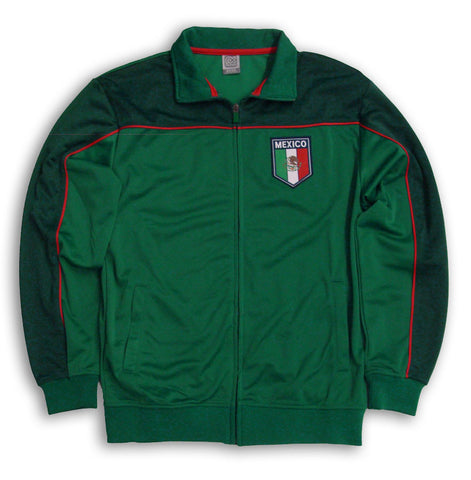 Mexico Mens Full Zip RX Green Soccer Track Jacket