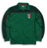 Mexico Mens Full Zip RX Green Track Jacket