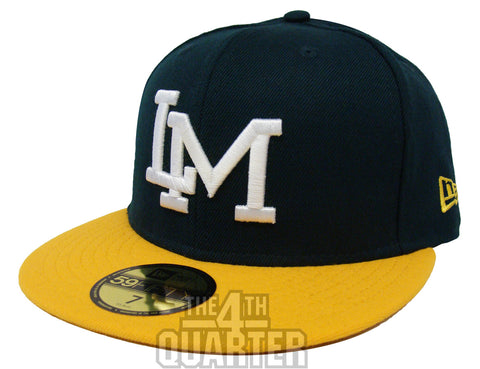 Cañeros De Los Mochis Sinaloa Fitted Mexican Pacific Baseball League New Era 59Fifty LM Logo Green Yellow Hat Cap