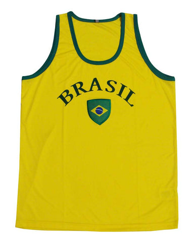 Brazil Mens Team Colors Tank