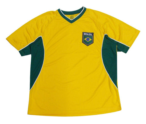 Brazil Mens RX Jersey Team Colors Yellow