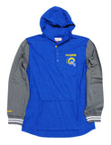 Los Angeles Rams Men's Mitchell & Ness Mid Season Hooded Longsleeve Sweatshirt