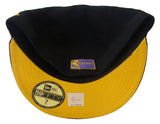 Los Angeles Lakers Fitted New Era 59FIFTY Crackle Vize Black Cap Hat