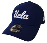 UCLA Bruins New Era 9Fifty Adjustable White Script Blue Cap Hat