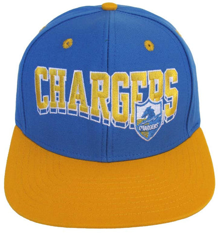 San Diego Chargers Retro SL Snapback Cap Hat Blue Yellow