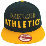 "Oakland Athletics Snapback New Era ""Mondo"" Cap Hat"