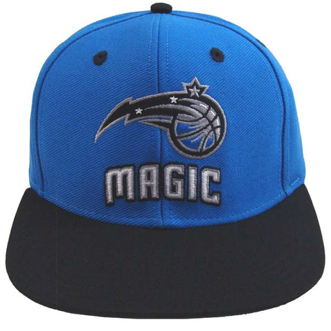 huge discount b7c31 b2f03 Orlando Magic Snapback Retro Hat Cap Name   Logo Blue Black – THE 4TH  QUARTER