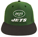 New York Jets Snapback Retro Cap Name & Logo