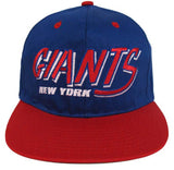 New York Giants Snapback Old Script Retro Double Cap